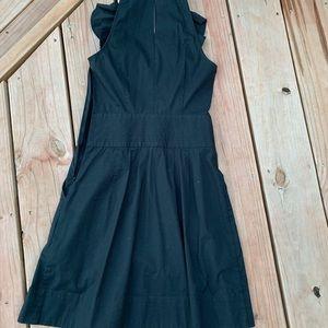 classic, black work dress